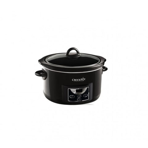 Crock Pot 4.7L Slow Cooker Black