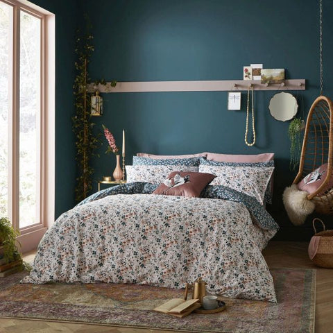 Fat Face Floating Blooms King Duvet Set