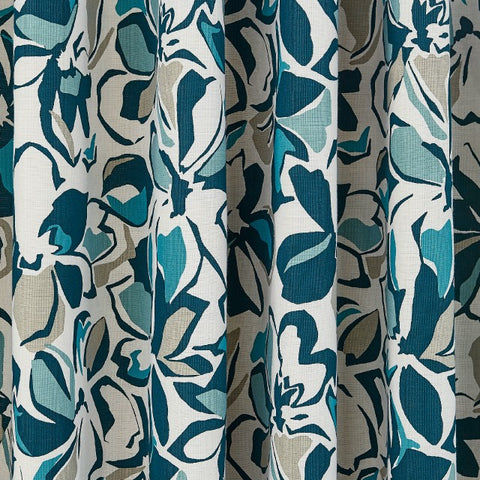 HS St Ives Lined Curtains 66X72 (168X183Cm) Coastal