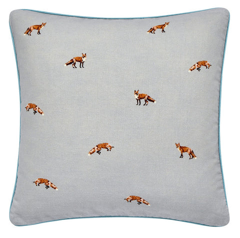 Joules Woodland Floral Cushion