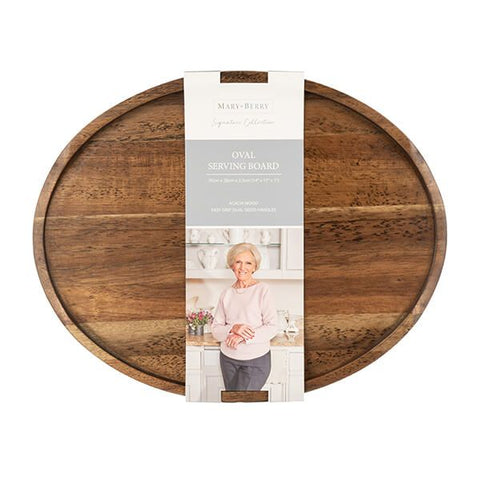 Mary Berry Acacia Oval Serving Board