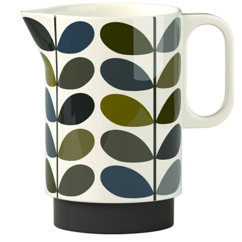 Orla Kiely Multi Stem Pitcher, Ink