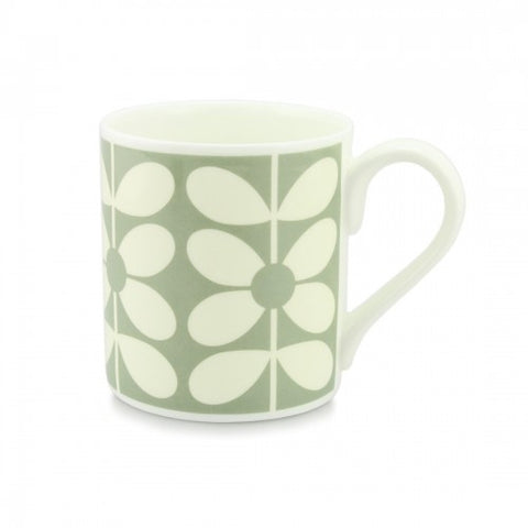 Orla Kiely Mug 60s Stem Duck Egg Blue
