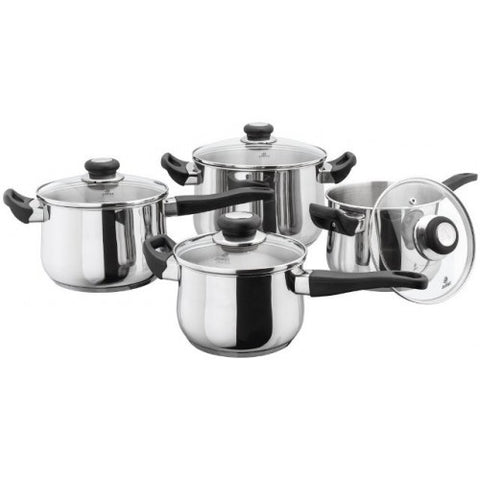 Judge Vista Deep 4 Piece Saucepan Set
