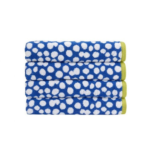 Kingsley Home Speckles Electric Blue Bath Sheet