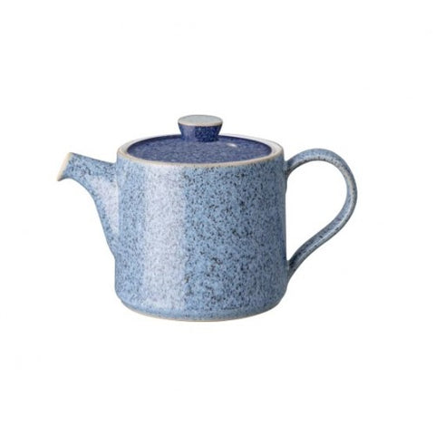 Denby Studio Blue Brew Small Teapot Flint