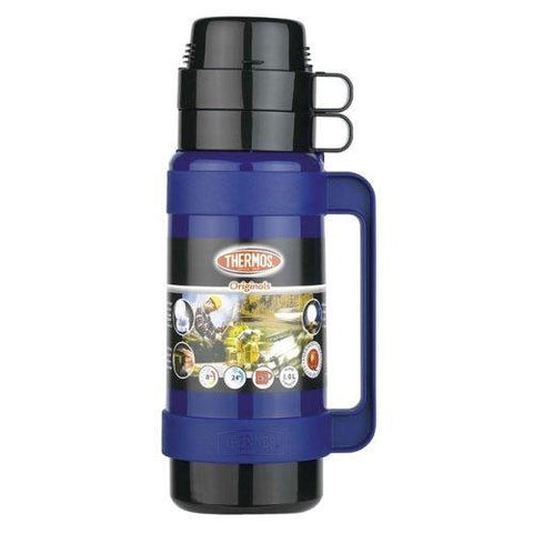 Thermos 1L Flask -  Blue