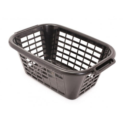 Addis Black Laundry Basket
