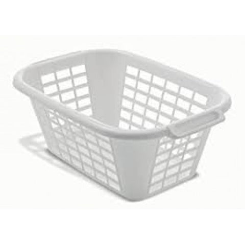 Addis White Laundry Basket