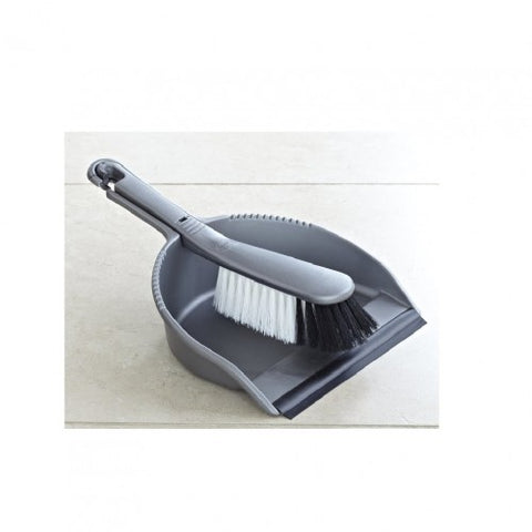 Addis Grey Dustpan and Brush