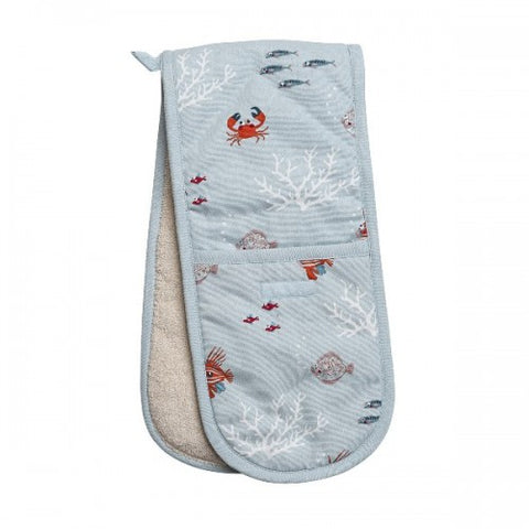 Sophie Allport What A Catch Double Oven Glove