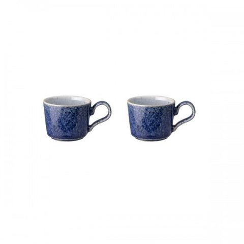Denby Studio Blue Set of 2 Espresso Cup Cobalt