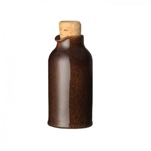 Denby Studio Craft Walnut Oil Bottle