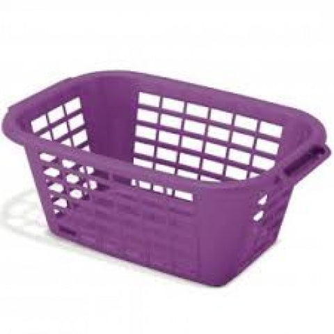 Addis Purple Laundry Basket (9624PPL)