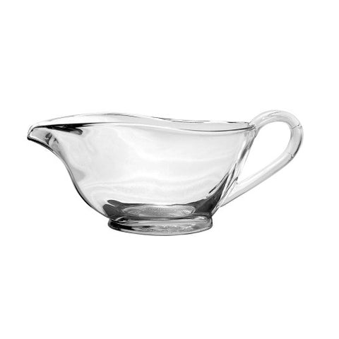 Anchor Glass Gravy Boat