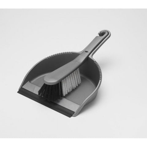 Grey Dustpan Set