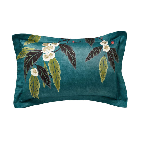 Harlequin Coppice Pillow Case Oxford Peacock