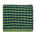 HS April / Dottie Spring Green Knitted Throw 130x150