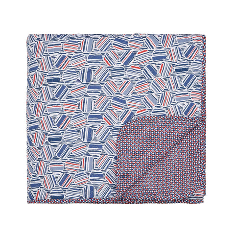 HS Larvotto Nautical Quilted Throw
