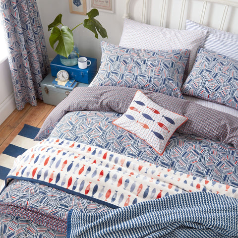 HS Larvotto Nautical Kingsize Duvet Cover Set