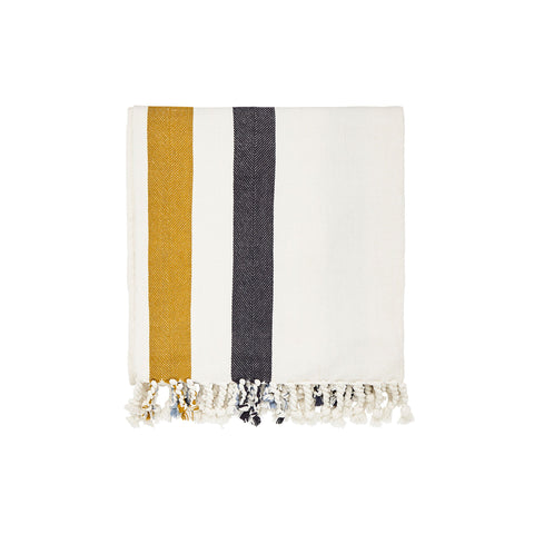 Joules Galley Grade Floral Throw 140X200Cm White