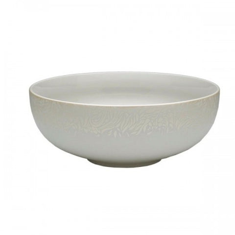 Denby Monsoon Lucille Gold Serving Bowl