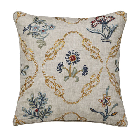 Morris & Co. Strawberry Thief Brown Cushion
