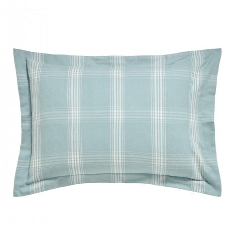 PB Blue Verbier Oxford Pillowcase, Aqua