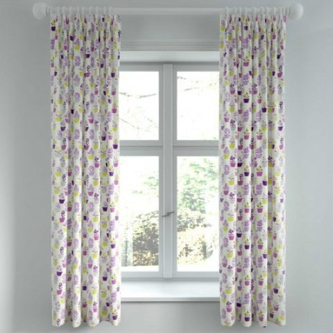 "HS Polly 66x72"" Lined Curtains"