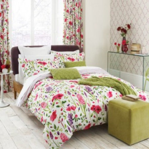 Sanderson Spring Flowers Superking Duvet Cover
