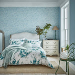 Sanderson Delphiniums Superking Duvet Cover