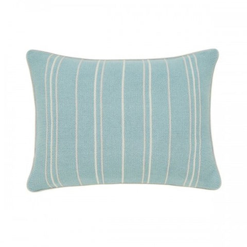 Sanderson Pippin Teal Knitted Cushion