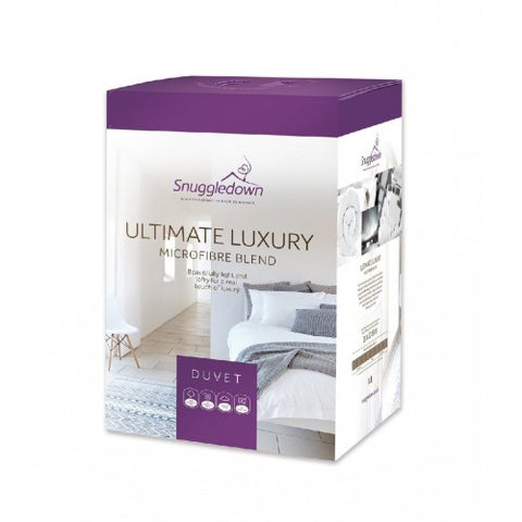 Snuggledown Single Ultimate Luxury 10.5TOG Duvet