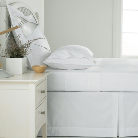 Sanderson Pima White King Fitted Sheet