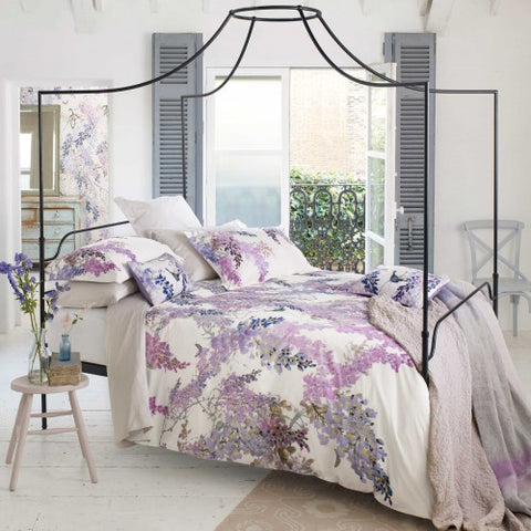 Sanderson Wisteria Falls Single Duvet Cover