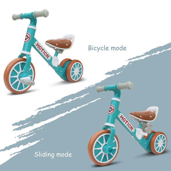 BP-202 Multifunctional Balance bike Removable Bicycle for Children 1-3 Years Old