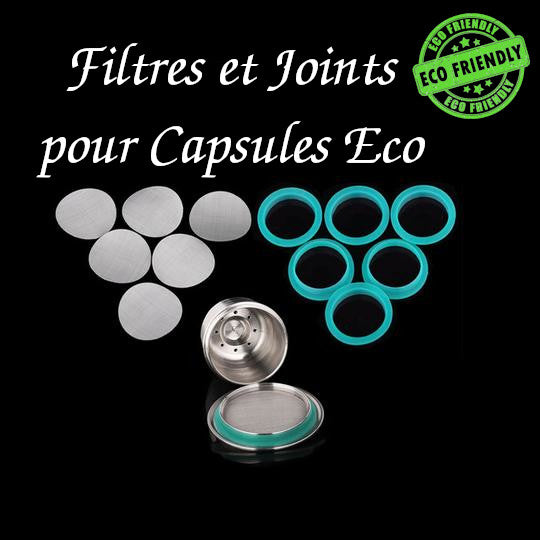 Filtre et Joint Silicone pour Capsule Eco 03 capsules-cafe