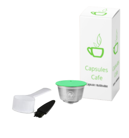Capsule Rechargeable Dolce Gusto® Cafilas®