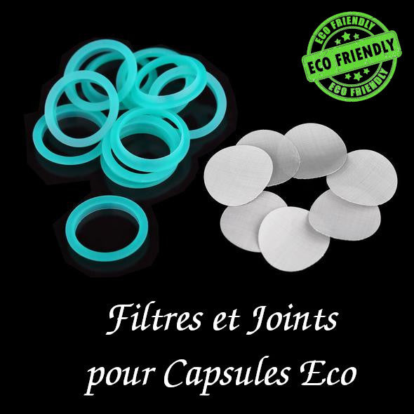 Filtre et Joint Silicone pour Capsule Eco 01 capsules-cafe