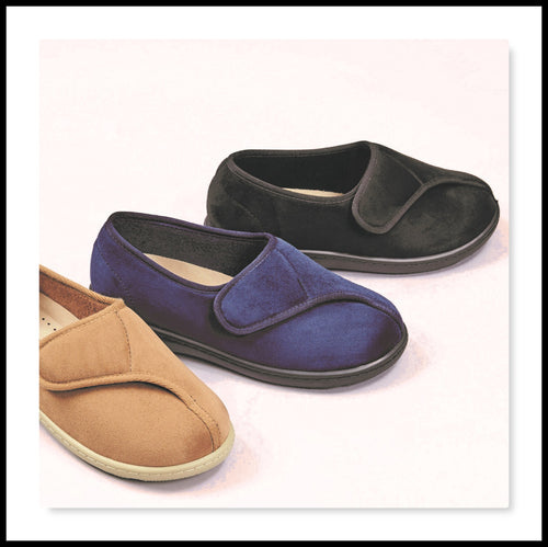 Darby Slipper/Shoe - Wide Fitting