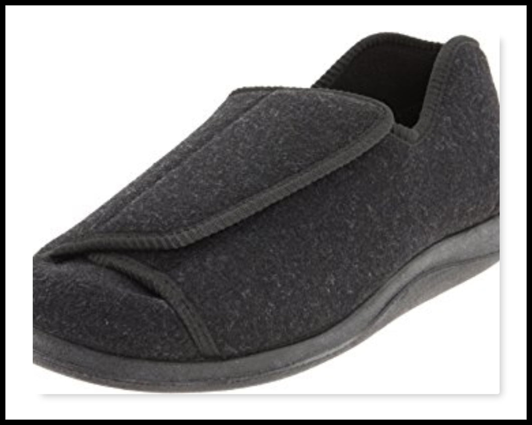Doctor Slipper/Shoe - Extra Wide Fitting