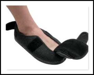 Physician Slipper/Shoe - Extra Wide Fitting