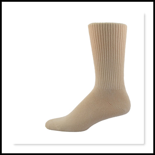 Diabetic Friendly Socks - Comfort Sock Mid-Rise