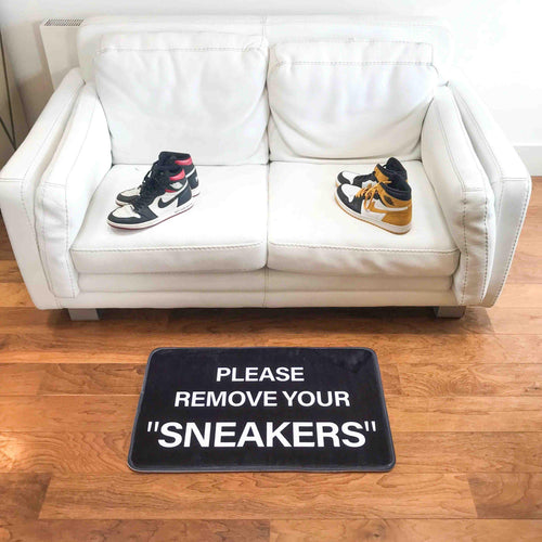 Doormat Please Remove Your Sneakers