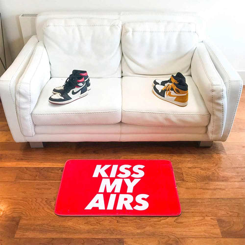 Doormat KISS MY AIRS-Sneakers Wall Star