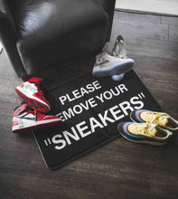 Load image into Gallery viewer, Doormat Please Remove Your Sneakers
