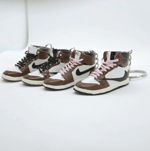 "Porte-clés Travis Scott x Air Jordan 1 ""Cactus Jack""Sneakers Wall Star- accessoires sneakers addict"