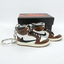 "Load image into Gallery viewer, Porte-clés Travis Scott x Air Jordan 1 ""Cactus Jack""Sneakers Wall Star- accessoires sneakers addict"