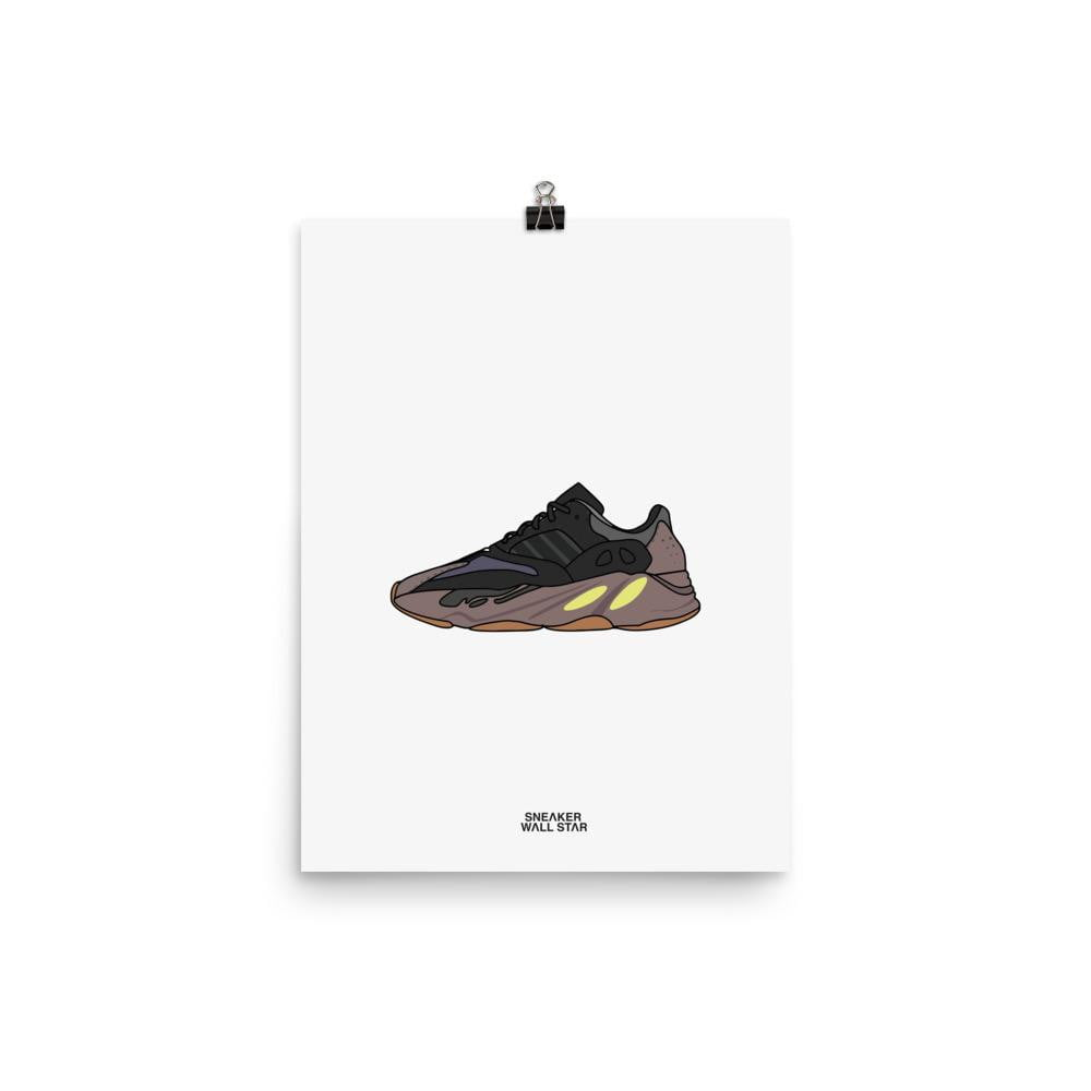 Poster Yeezy 700 MauveSneakers Wall Star- accessoires sneakers addict