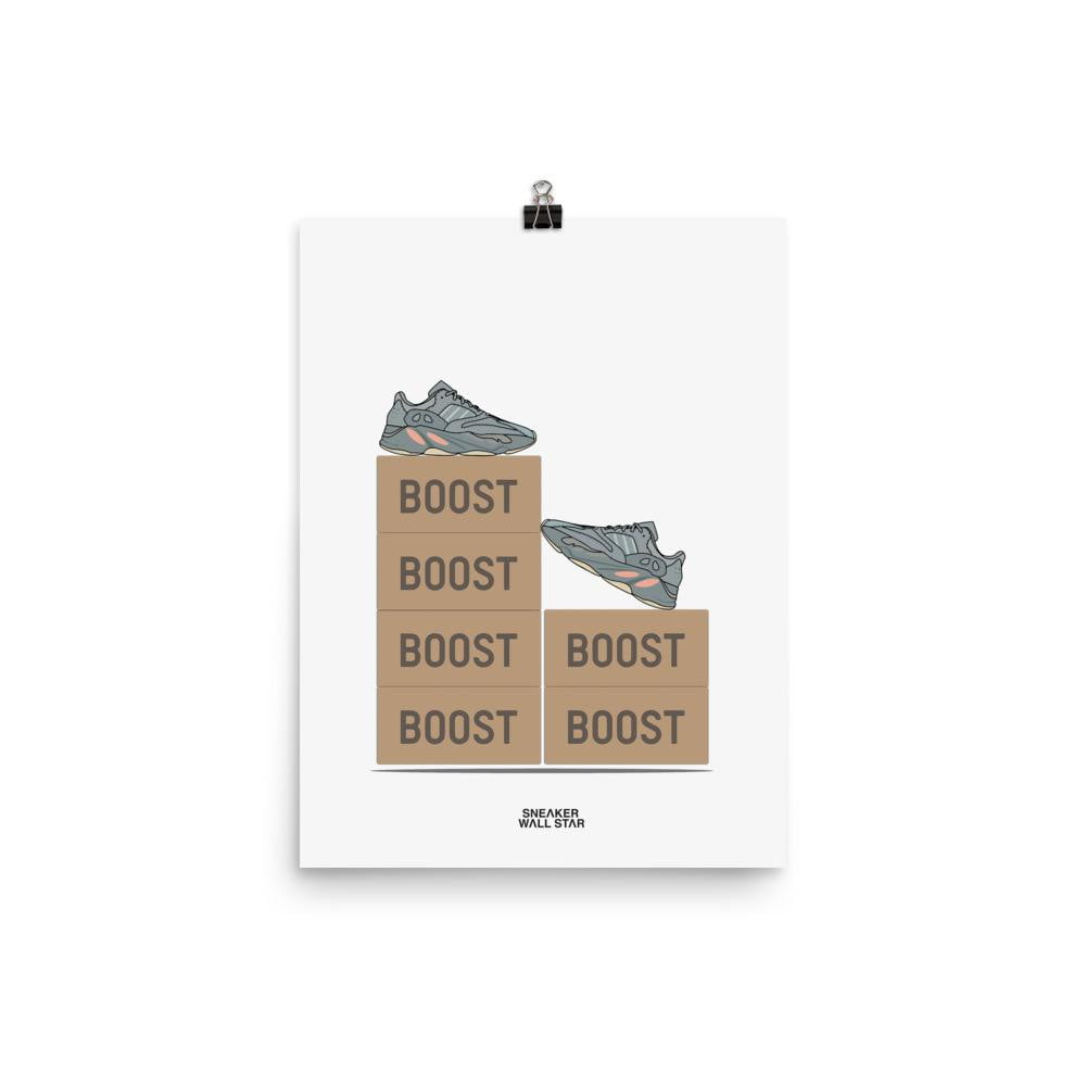 Poster Yeezy Inertia V2Sneakers Wall Star- accessoires sneakers addict